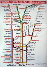 Metrorail Map Mumbai Metro Rail Project Trail Run