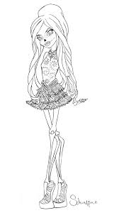abbey bominable coloring pages monster high coloring the media pinterest monster high