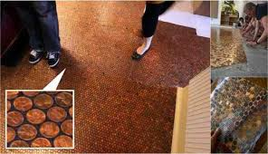 brown paper faux wood floors for less than 90 do it yourself