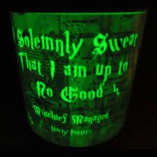 harry potter night light harry potter hogwarts crest tea set from opheliasgypsycaravan