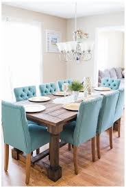our new dining room rustic farm table something blue by susan