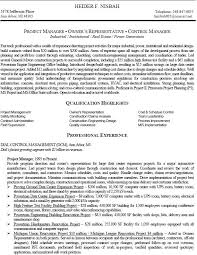 Pmo Cv Resume Sample Project Management Resumes Samples Unforgettable Technical