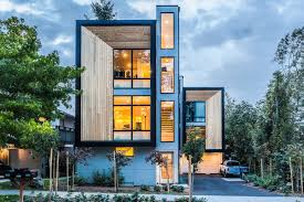 modern prefab modular townhouses designed for urban living youtube