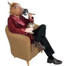 fake horse head accoutrement horse head mask walmart com