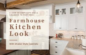 joanna gaines farmhouse kitchen with cabinets get the farmhouse kitchen look with shaker style cabinets