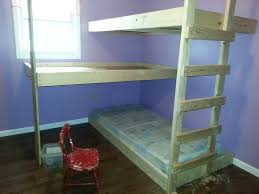 Plans To Build A Bunk Bed With Stairs by 25 Diy Bunk Beds With Plans Guide Patterns