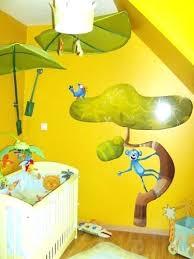 rideau chambre bébé jungle chambre jungle chambre jungle bebe daccoration chambre enfant dacco