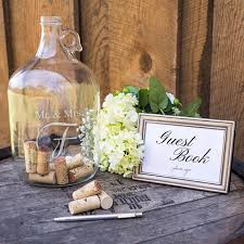wedding wishes birmingham the mr mrs wedding wishes in a bottle guest book is great way