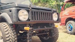 jipsi jeep black gypsy 4x4 off road modifications auto monster youtube