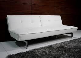 sofa white leather futon sofa archaicawful photo ideas faux