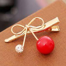 barrette hair clip cherry hair clip ebay
