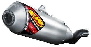 fmf powercore 4 slip on exhaust ktm 450 525 sx xc xc w