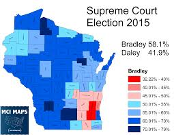 Wisconsin Election Map by Why The Wisconsin Supreme Court Election Referendum Gave