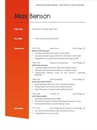 Sample Formal Resume by Formal Resume Template Best Template Collection