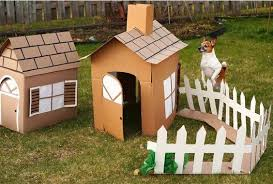 make house how to make a cardboard dog house for 0 cardboard crafting
