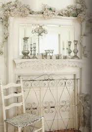 Shabby Chic Fireplaces by Tiny Fireplace Mantle Any Cubby Would Work With Some Molding