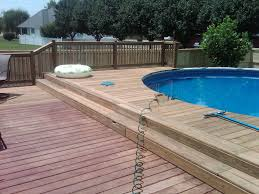above ground pool ideas deck design plans roselawnlutheran