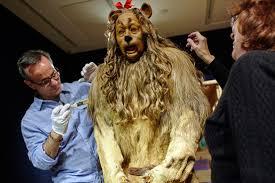 cowardly lion costume cowardly lion costume sells for 3 1 million metropolis wsj