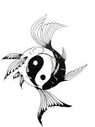 sun moon yin yang tattoo sketch real photo pictures images and