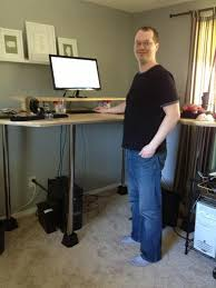 Diy Stand Up Desk Jim S Diy Standing Desk