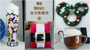 Homemade Christmas Decoration Ideas by Cheap U0026 Easy Diy Christmas Decor Ideas Pinterest Inspired Youtube