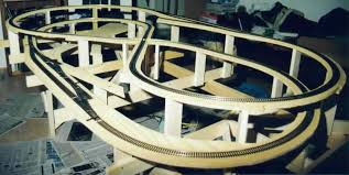 Plans For Wooden Toy Trains by Layout Rail Useful Model Train Layouts And Designs