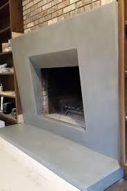 concrete fireplace surrounds truecrete