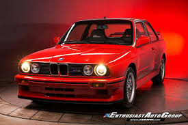 Bmw M3 Sport - how much would you pay for a rare and almost brand new 1990 bmw m3