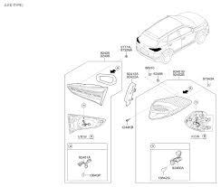 hyundai tucson tail light wiring diagram hyundai wiring diagram