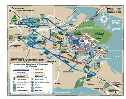 Bwi Airport Map Annapolis Tourist Map Annapolis U2022 Mappery
