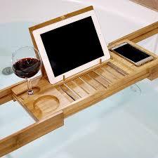 umbra aquala bathtub caddy bathtubs trendy bamboo bathtub caddy images bamboo bath caddy