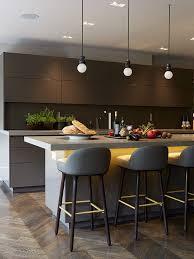 implantation cuisine ouverte une cuisine très design http m habitat fr penser sa