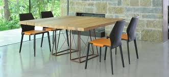 roxy dining room table in venetian briccola wood shop online