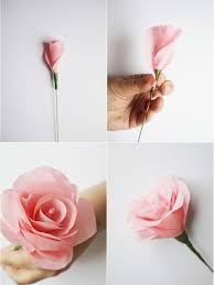 paper flower bouquet how to make paper flowers for a wedding bouquet hgtv