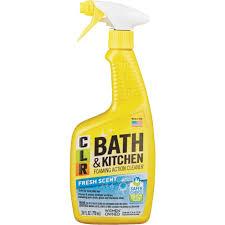 clr bath u0026 kitchen cleaner 26 fl oz fresh scent spray walmart com