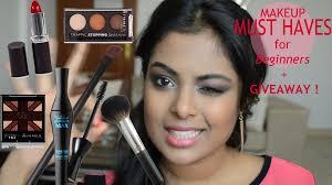 Makeup Basics 10 Must Makeup by Makeup Must Haves For Beginners Makeup Starter Kit Giveaway