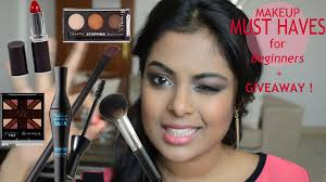 makeup must haves for beginners makeup starter kit giveaway closed
