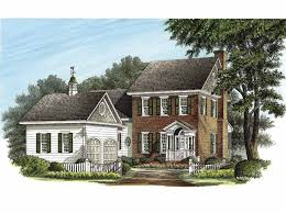 federal style house plans federal home plans 45 images home plan homepw14483 3811 square