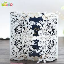 Informal Wedding Invitation Wording Souvenirs For Wedding Guests Gate Lace Invitations Modern Discount