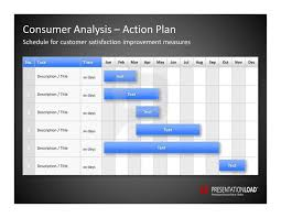 powerpoint action plan template bountr info