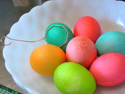 coloring easter eggs ditch the chemical food colorings and try