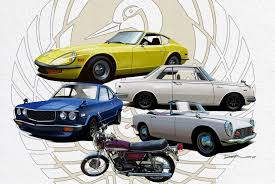 foreign sports car logos japanese classic car show dedicated to old japanese cars