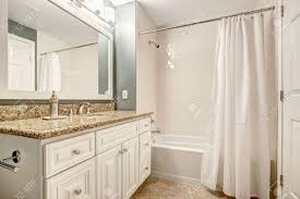 what color cabinets with beige tile white bathroom vanity cabinet with granite top and mirror aqua