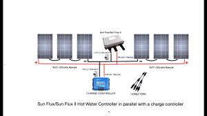 off grid water heating sun flux ii wiring diagrams and other
