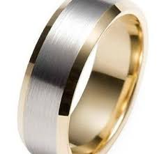 mens yellow gold wedding bands white and yellow gold mens wedding rings wedding promise