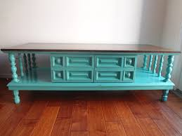 Vintage Coffee Tables by Chichi Vintage Turquoise Vintage Coffee Table