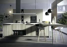 conception 3d cuisine cuisine amenagee italienne cuisine italienne design bois ilot