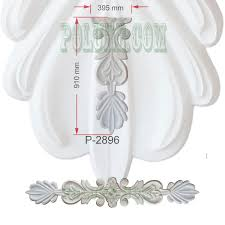 polyurethane decorative and ornamental motifs exterior interior