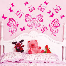 compare prices on girls room online shopping buy low price girls beautiful butterflies vinyl wall sticker art cut home decor wall decal kids nutsery wall apper girls