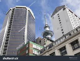 modern buildings auckland city new zealand stock photo 460919890